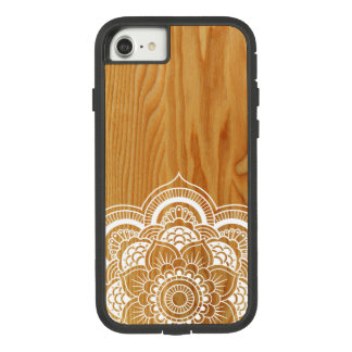 Wood and Mandala Case-Mate Tough Extreme iPhone 8/7 Case