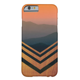 Wood and Sunset View Iphone Case