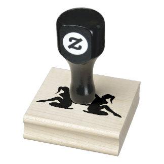 Wood Art Stamps/Dancer2 Rubber Stamp