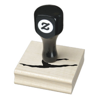 Wood Art Stamps/Dancer Rubber Stamp