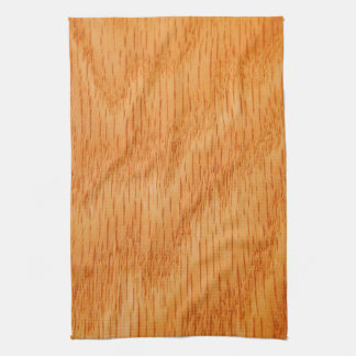 Wood Background - Smooth Bamboo Grain Customized Kitchen Towel