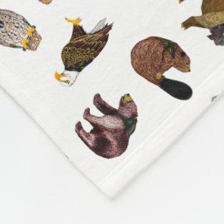 Wood Badge Critter Toss Blanket