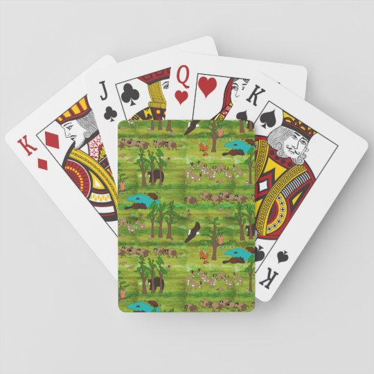 Wood Badge Playing Cards