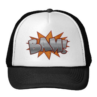 Wood Bam Trucker Hat