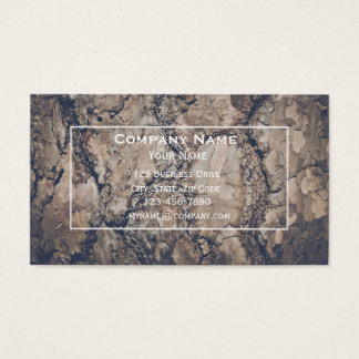 Wood Bark Business Card