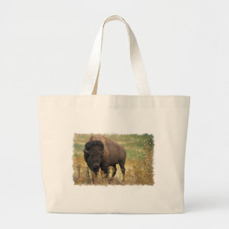 Wood Bison Canvas Bag