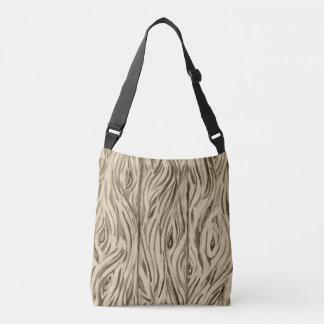 wood boards crossbody bag