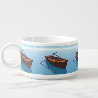 Wood boat - 3D render Bowl