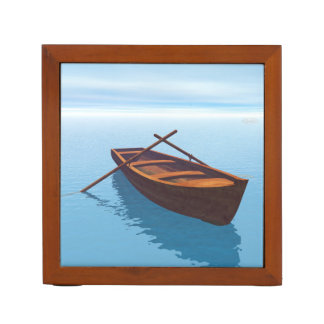 Wood boat - 3D render Desk Organizer