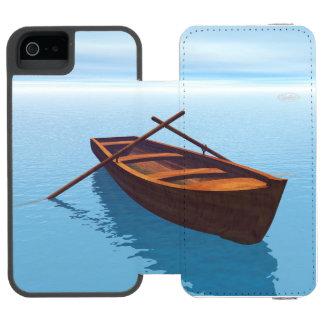 Wood boat - 3D render Incipio Watson™ iPhone 5 Wallet Case
