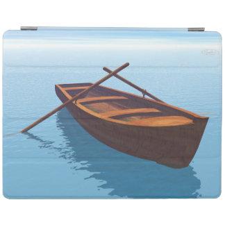 Wood boat - 3D render iPad Cover