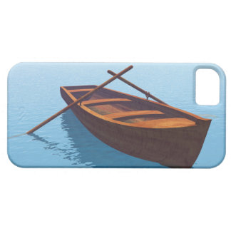 Wood boat - 3D render iPhone 5 Cases