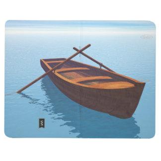 Wood boat - 3D render Journal