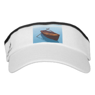 Wood boat - 3D render Visor