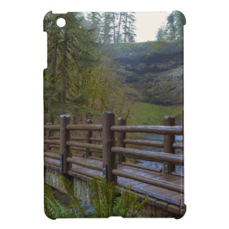 Wood Bridge at Silver Falls State Park iPad Mini Case