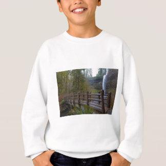 Wood Bridge at Silver Falls State Park Sweatshirt