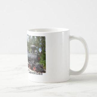 Wood burning Steam Train Coffee Mug