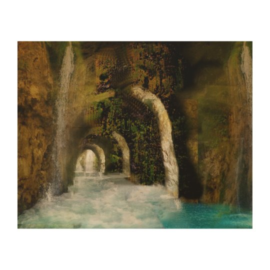 Wood canvas Grotte