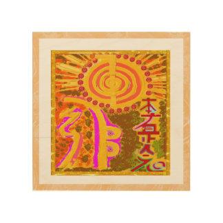 Wood Canvas REIKI Art NAVIN JOSHI, made in USA