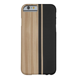 Wood & Carbon Fiber iPhone 6 case