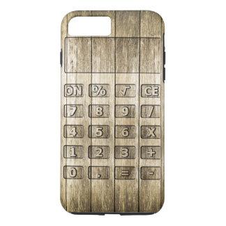 Wood Carving (Calculator) iPhone 7 Plus Case