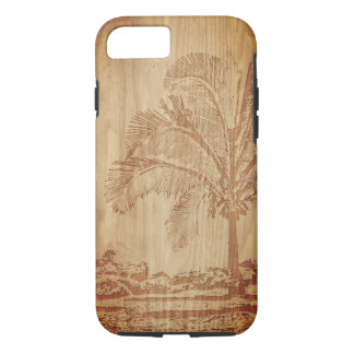 Wood Carving Palm Phone Case