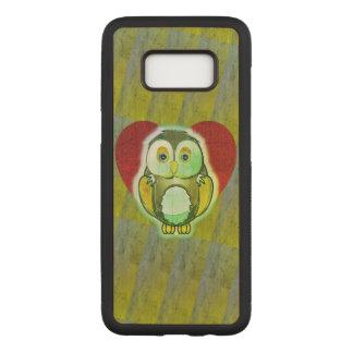 Wood Case - Owl