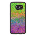 Wood Case Samsung Galaxy S6 Edge Fluid Colours