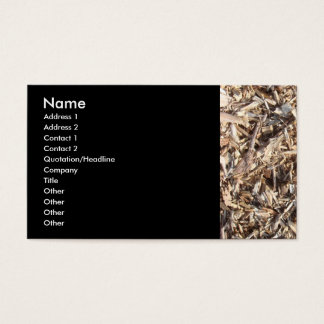 Wood Chips Business Card