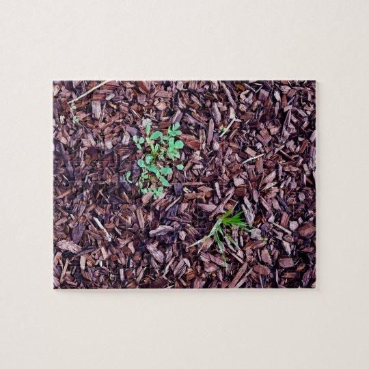 Wood Chips Jigsaw Puzzle