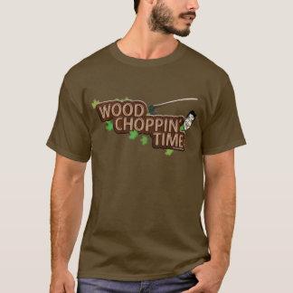 Wood Choppin' Time - Logo Tee