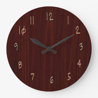 Wood Clock by Julie Everhart