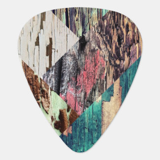 Wood Collage Guitar Picks Pick