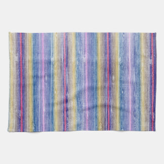 wood colorful design kitchen towel