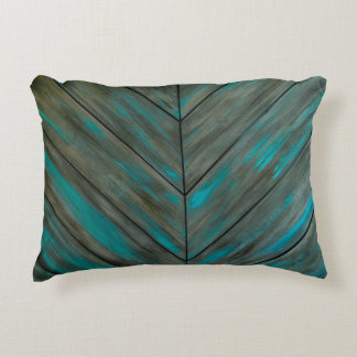 Wood Corners Accent Pillow