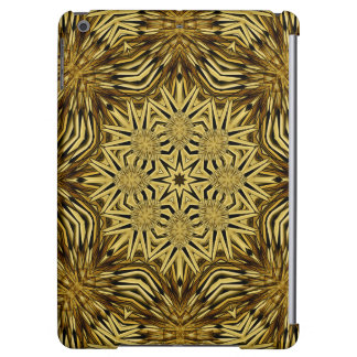 Wood Craft Mandala Cover For iPad Air