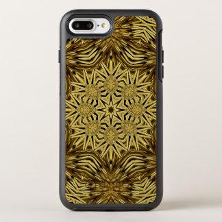 Wood Craft Mandala OtterBox Symmetry iPhone 7 Plus Case