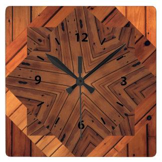 Wood Design Square Wall Clocks