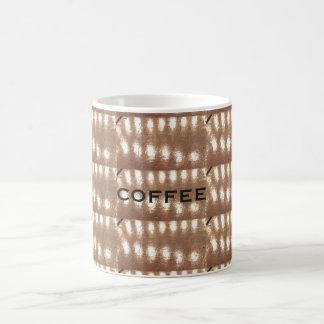 Wood-designed coffee mug
