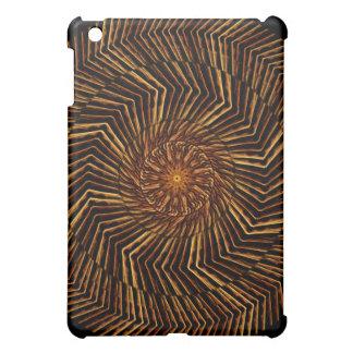 Wood Disk Mandala Case For The iPad Mini