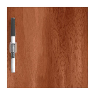 Wood Dry Erase Board