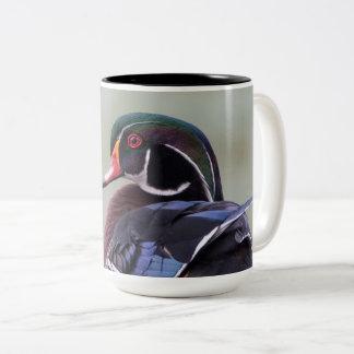 Wood Duck Drake Large Mug