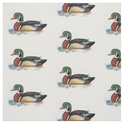 Wood Duck Fabric