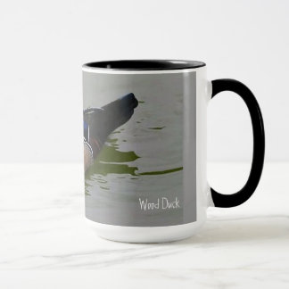 Wood Duck Ringer Mug