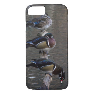 Wood Ducks on Branch iPhone 7 Case