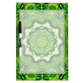WOOD Element kaleido pattern Dry Erase White Board