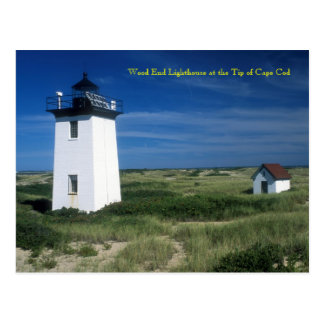 Wood End Lighthouse, Tip of Cape Cod, Provincetown Postcard