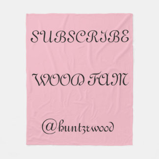 Wood Fam Throw blanket