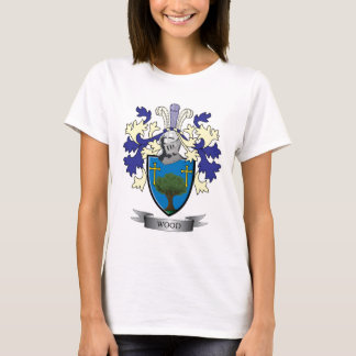Wood Family Crest Coat of Arms T-Shirt