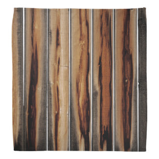 Wood Fence Texture Cool Unique Bandana